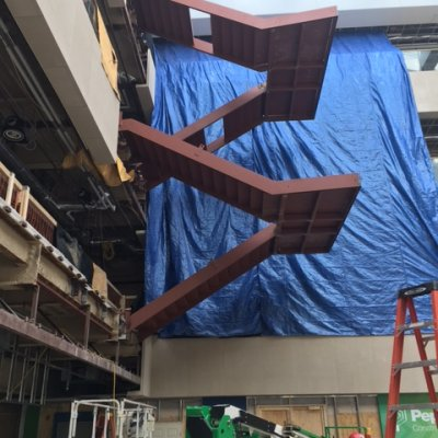 Floating Stair Framing
